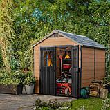 Садовый домик сарай Keter Newton 759 Shed, фото 3