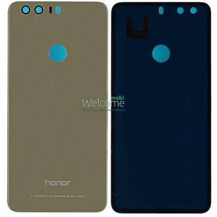 Задняя крышка Huawei Honor 8 gold, сменная панель хонор, фото 2