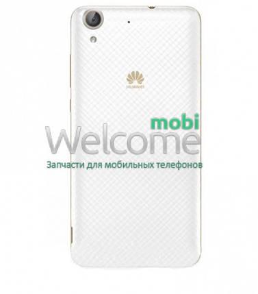 Задняя крышка Huawei Y6 II white, сменная панель хуавей хуавэй у6, фото 2