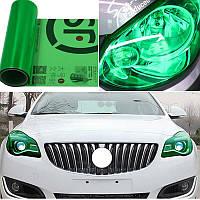 Пленка тонировочная на авто Зеленая 100х30 см