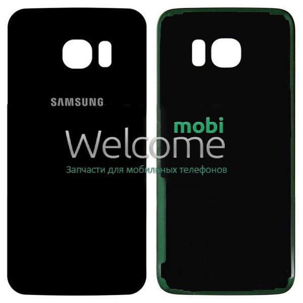 Задняя крышка Samsung G935 Galaxy S7 Edge black orig, сменная панель самсунг