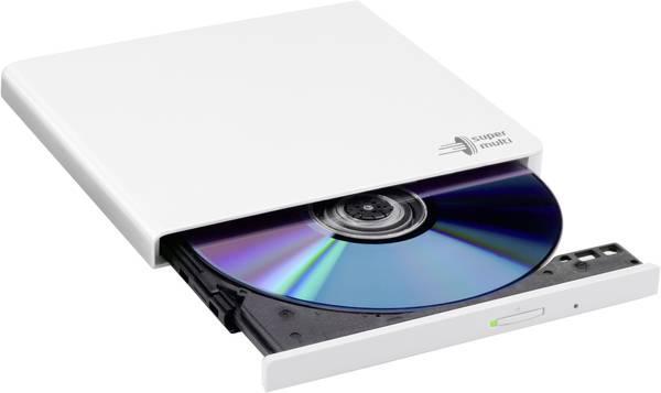 Внешний дисковод для ноутбука LG GP57EW40, White, DVD+/-RW, USB 2.0, переносной оптический привод