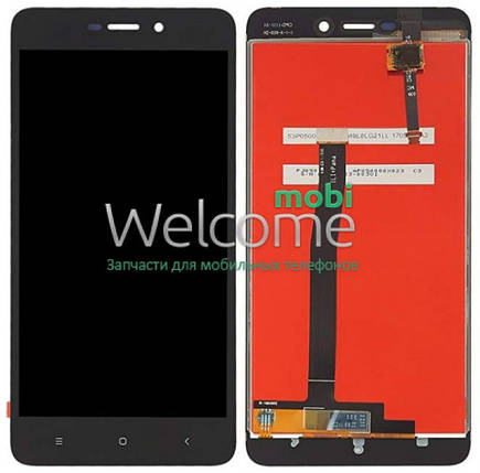 Модуль Xiaomi Redmi 4a black дисплей экран, сенсор тач скрин, фото 2