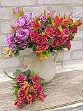 Троянда прованс в 2-х кольорах h-31см, 55/45 (цена за 1 шт. + 10 гр.), фото 2