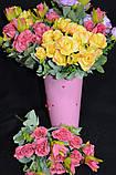 Троянда прованс в 2-х кольорах h-31см, 55/45 (цена за 1 шт. + 10 гр.), фото 7