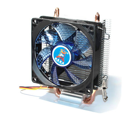 Кулер для процессора Cooling Baby R90 BLUE LED LGA 1150/1151/1155/1156/775, FM1/FM2/AM2/AM2+/AM3/AM3+/AM4, фото 2