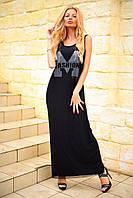 Платье майка норма 8050 ш Код: 3689708