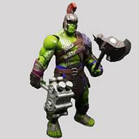 Игрушка ReStEq Фигурка Халк Рагнарек Мстители костюм броня 20 см Зеленый 90024, КОД: 1649592