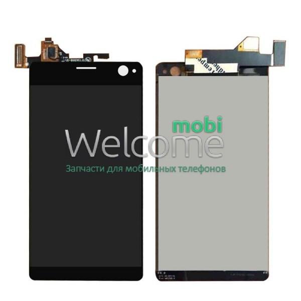 Модуль Sony E5343 Xperia C4 Dual/E5363/E5333 black дисплей экран, сенсор тач скрин  Сони