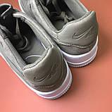 Женские кроссовки Nike Air Force Low Sage Platform Green, женские кроссовки найк аир форс лов сага, фото 8