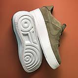 Женские кроссовки Nike Air Force Low Sage Platform Green, женские кроссовки найк аир форс лов сага, фото 3
