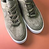 Женские кроссовки Nike Air Force Low Sage Platform Green, женские кроссовки найк аир форс лов сага, фото 7