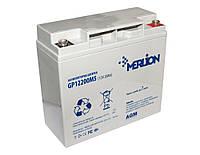 Аккумулятор для ИБП 12В 20Ач Merlion / GP12200M5 / 12 V 20 Ah / ШхДхВ 65х151х101 / White Q10