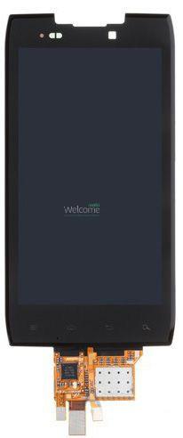 Модуль Motorola XT910 Droid RAZR,XT912 Maxx Razr black дисплей экран, сенсор тач скрин Моторола Мото