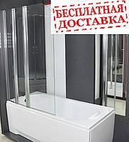 Душевая шторка на ванну Vilarte SC-100 140x100