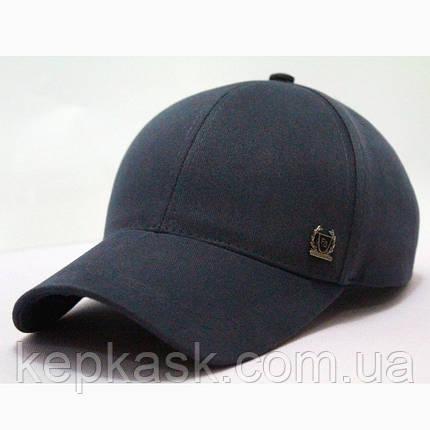 Бейсболка котон серая FS clothing (ТКАНЬ-ДИАГОНАЛЬ), фото 2