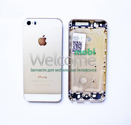 Задня кришка iPhone 5S gold без IMEI, змінна панель айфон 5с, фото 2