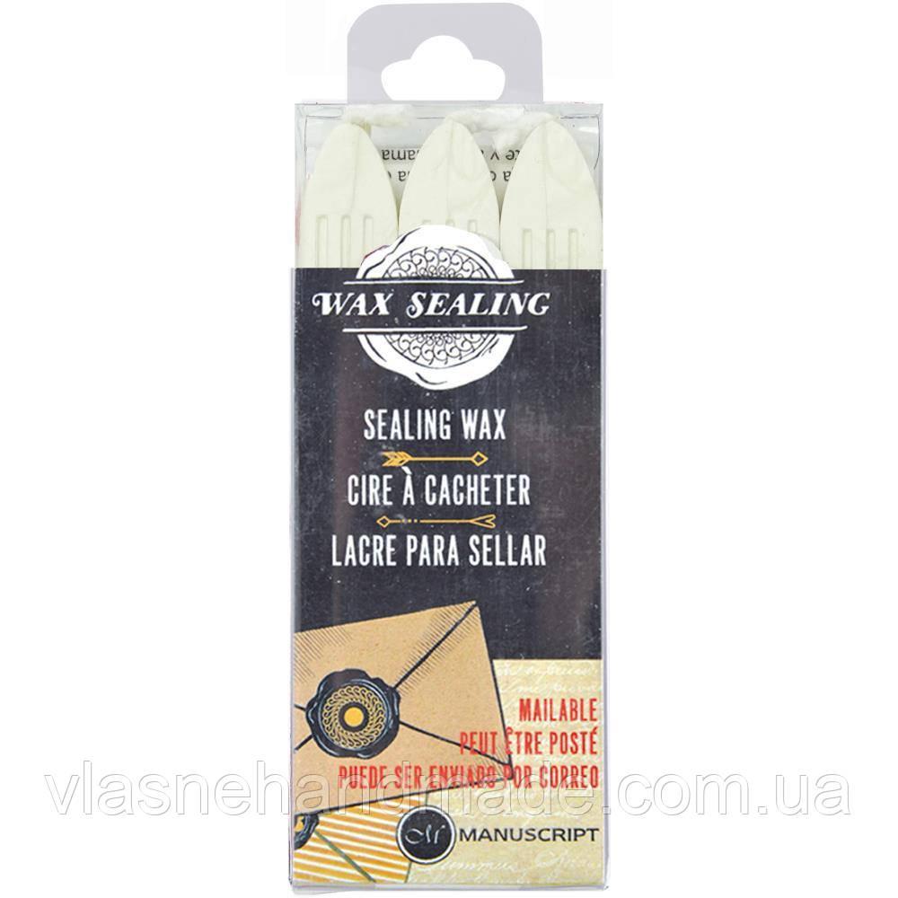 Віск - Manuscript Traditional Sealing Wax Sticks - 3 шт.
