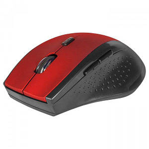 Беспроводная мышка Defender Accura MM-365, Red, компьютерная мышь дефендер для ПК и ноутбука