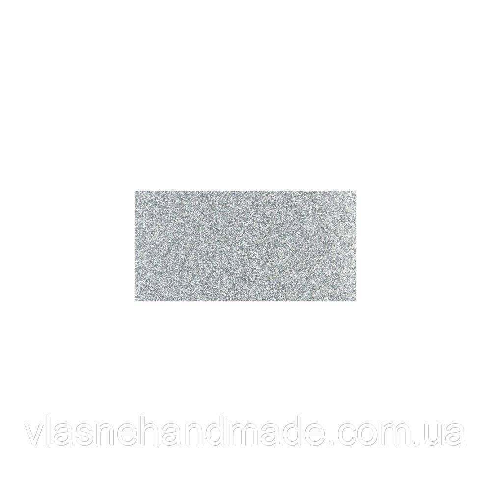 Кардсток глітерний - Silver - ETC Papers -  30х30