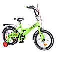 Детский Двухколесный Велосипед EXPLORER 16 со страховочными колесиками, фото 5