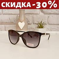 Очки солнцезащитные женские +чехол очки женские с красным отливом