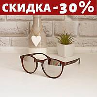 Очки солнцезащитные женские +чехол очки женские зеркальные