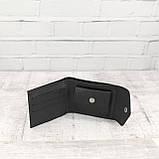 Кошелек square черный из натуральной кожи saffiano, фото 8