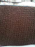 Чехол натяжной на угловой диван DONNA шоколадный  и еще 15 расцветок, фото 4