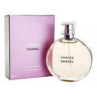 Chanel Chance Туалетная вода EDT 100 ml (Шанель Шанс) Женский Парфюм Аромат Духи EDP Perfume Парфюмированная