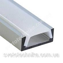 Biom алюминиевый профиль накладной стандартный для светодиодной ленты