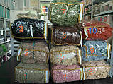 Чехлы натяжные на стулья  без оборки DONNA  цвет горчичный  (набор 6 шт.), фото 2