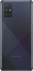 "Смартфон Samsung Galaxy A71 SM-A715 Dual Sim Black (SM-A715FZKUSEK); 6.7"" (2400х1080) Super AMOLED Plus / Qualcomm Snapdragon 730, фото 3"