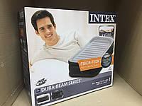 Надувная кровать со встроенным насосом 200В Intex 64432 / 191х99х42 см