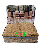 Чехлы VIP натяжные на стулья жаккардовые  DONNA   набор 6 шт бежевые 203, фото 4