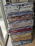 Чехлы VIP натяжные на стулья жаккардовые DONNA  набор 6 шт капучино 202, фото 3