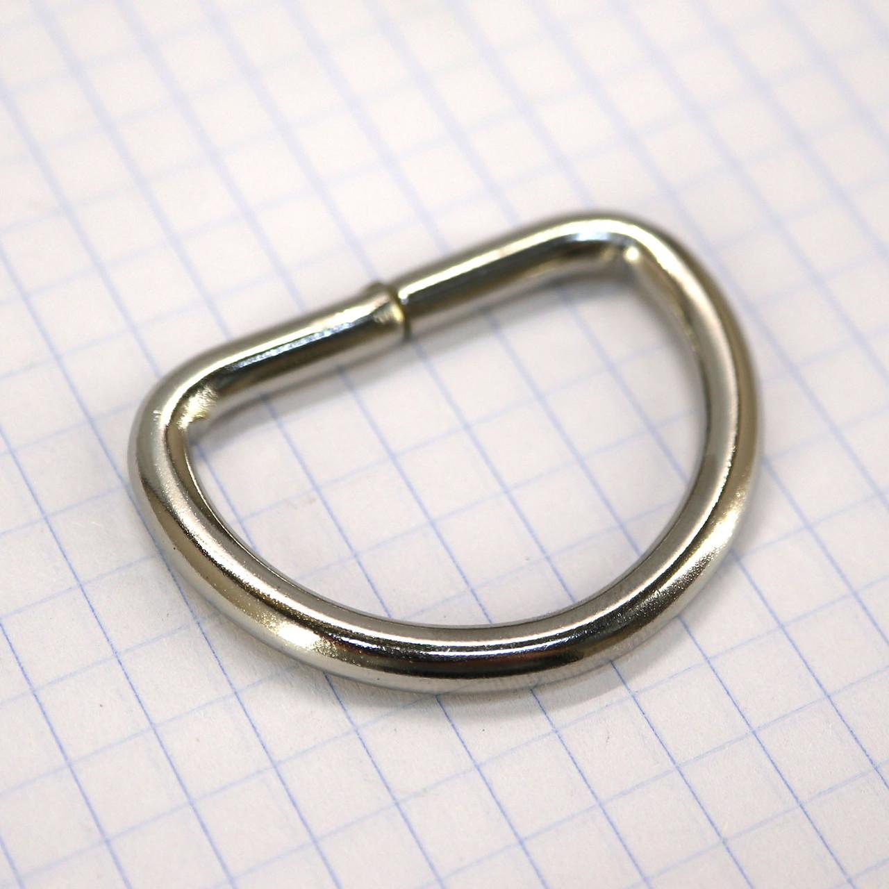 Полукольцо 30 мм никель 30*20*4 для сумок t4216 (30 шт.)