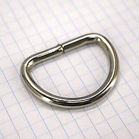 Полукольцо 30 мм никель для сумок t4216 (30 шт.)
