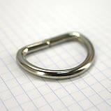 Полукольцо 30 мм никель 30*20*4 для сумок t4216 (30 шт.), фото 4