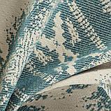 Обивочная ткань для мебели Хай Лайн Хадсан (High Line Hudson) голубого цвета, фото 3