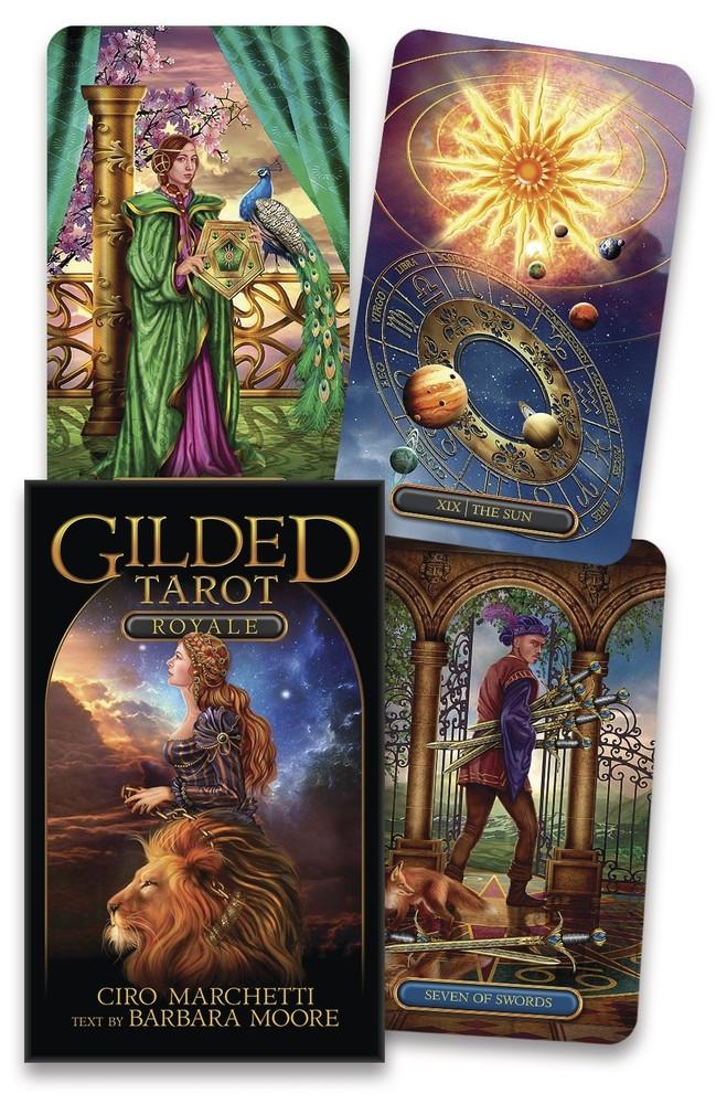 Gilded Tarot Royale/ Королівське Позолочене Таро