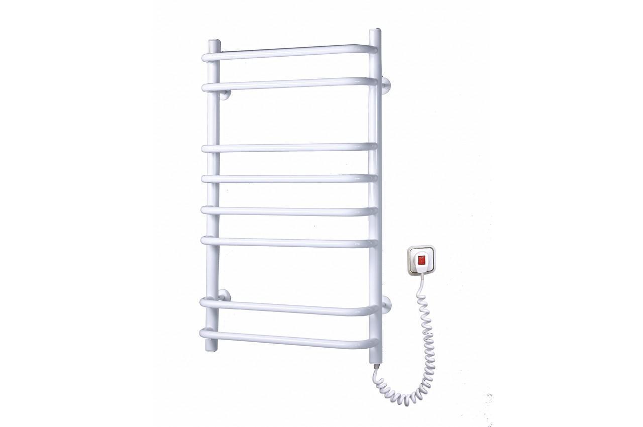 Полотенцесушитель электрический Elna - стандарт 8 с регулятором (б-л)