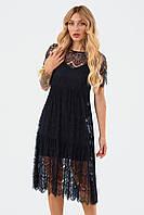 Жіноче мереживне плаття Starla, чорний M