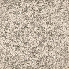 Мебельная ткань с орнаментом Хай Лайн Вашингтон (High Line Washington) серого цвета