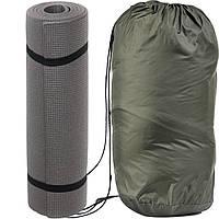 Спальный мешок - одеяло (Спальник) 210х70см Походный Весна/Лето Зелёный + Каремат, фото 1