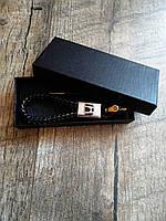 Брелок для автомобильных ключей Honda кожаный для хонда с логотипом + подарункова коробка