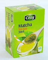 Матча чай с молоком и сахаром 3в1 в стиках (18p) Matcha Tra Cozy 306 грамм (Вьетнам)