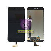 Дисплей (экран) для XIAOMI Redmi Note 5A Prime + тачскрин, цвет Черный