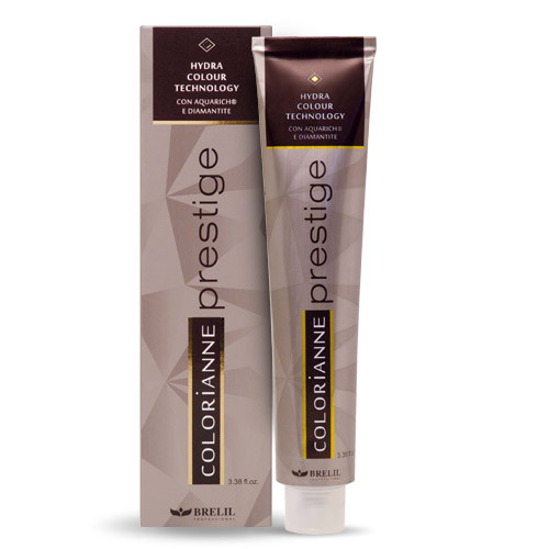 Краска для волос Colorianne Prestige Brelil 5.18 Светло-коричневый ледяной шоколад, 100 мл