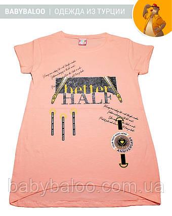 Красива туніка для дівчинки HALF (від 9 до 12 років), фото 2